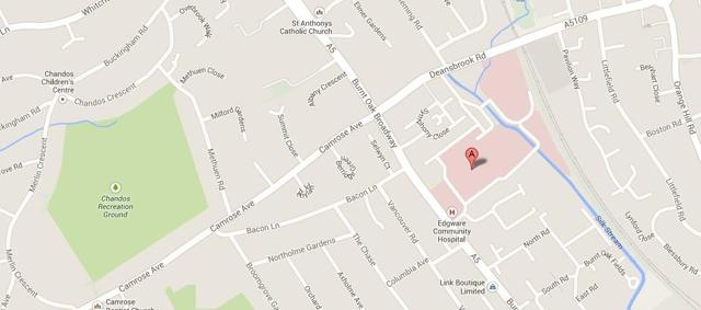 edgware-map